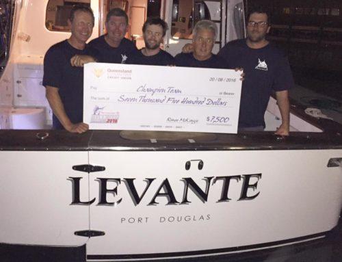 WINNER – Levante wins Mike Carney Toyota Townsville Billfish Challenge 2016